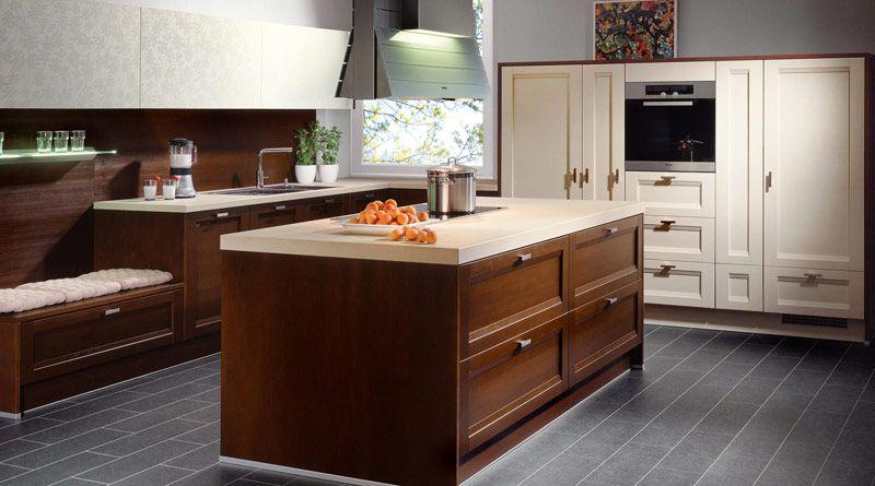 Küche Dunkler Fußboden ~ Bodengestaltung küche küche kaufen küchenstudio küchenplaner