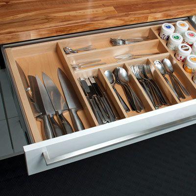 vollauszug schublade - küche kaufen küchenstudio küchenplaner ... - Schubladen Küche